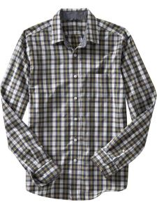 Gap Fitted Newby Checked Shirt