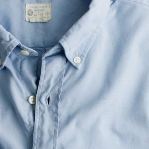 J. Crew Extra Washed Oxford