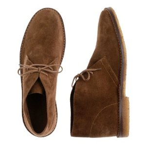 Suede McCalister Boots in Dark Khaki