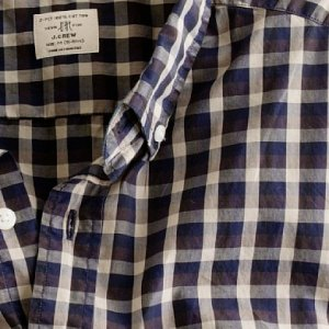 J. Crew Vineyard Plaid Shirt