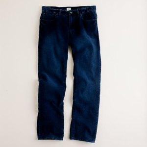 J. Crew Vintage Slim-Fit Cords in Marine Blue