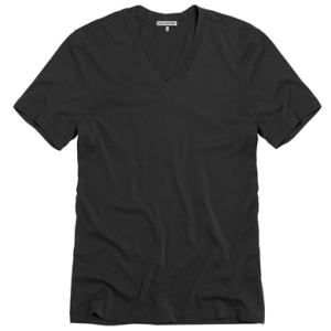 James Perse Black V-Neck