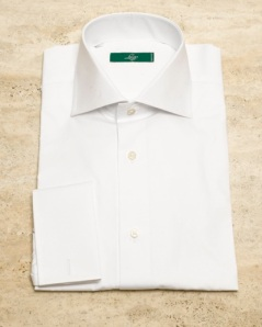 Lugo White French Cuff Shirt