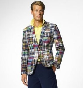 Ralph Lauren Madras Jacket