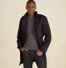Martin & Osa Black Trench Coat