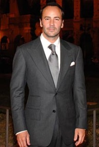 Tom Ford in a Peak Lapel Jacket