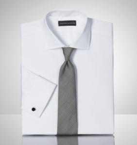Ralph Lauren Black Label French Cuff Dress Shirt