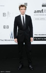 Dolce and Gabbana Shawl Collar Tuxedo on Robert Pattinson