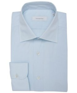 Ermenegildo Zegna Spread Collar Dress Shirt