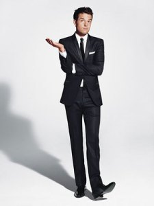 Dolce and Gabbana Tuxedo on Brandon Flowers