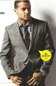 1. Uniqlo Tweed Jacket