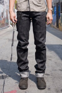 3Sixteen Black Straight Leg