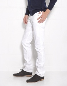 Acne White Max Jeans