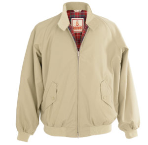 Baracuta G9 Harrington Jacket in Natural