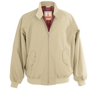 Baracuta G9 Harrington Jacket in Natural