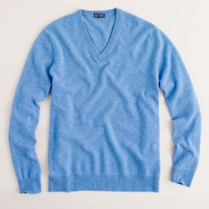 J. Crew Cashmere Sweater in Twilight