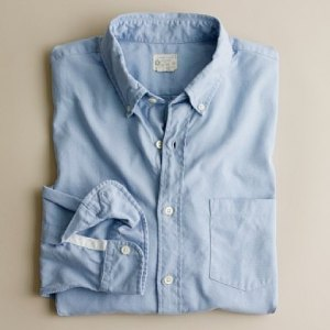 J. Crew Extra-Washed Oxford Shirt