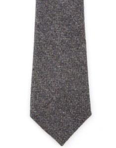 J. Press Wool Herringbone Tie