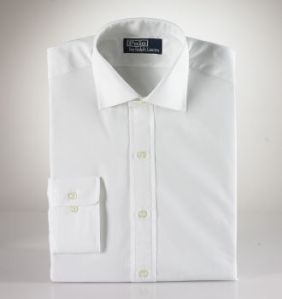 Polo Ralph Lauren Barrel Cuff Regent Shirt in White