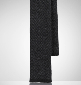 Ralph Lauren Black Label Cashmere Knit Tie