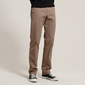 Tommy HIlfiger Madison Twill Chino in Walnut