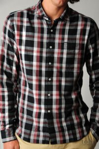 Shipley and Halmost Plaid Shirt