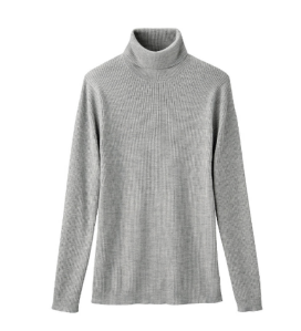 Rib Turtleneck Sweater $39.50