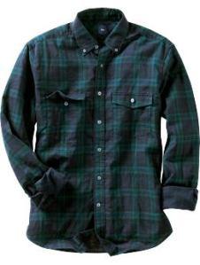 Gap Black Watch Shirt