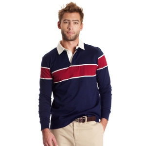 Hickey Striped Rugby