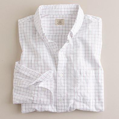J. Crew Tattersall Shirt