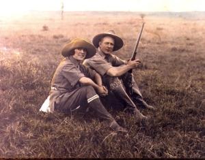 Explorers Martin and Osa Johnson