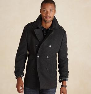 Wool Peacoat, $120