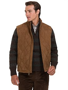 Brooks Brothers Suede Vest