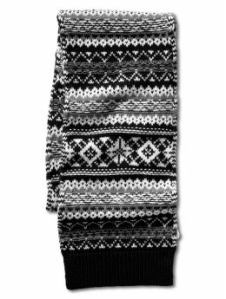 Banana Republic Fair Isle Scarf
