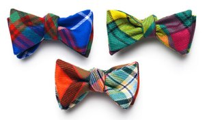 David Hart & Co. Tartan Bow Ties