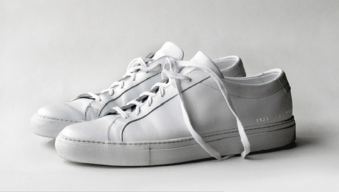 common project Common projects original achilles low blush pink $410 common projects achilles low colored sole blush pink regular price: $425.